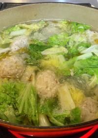 節約♩時短レシピ〜あったか鶏団子スープ〜