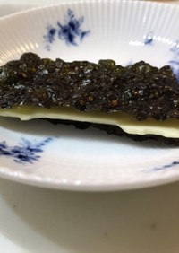 男梅海苔&スライスチーズ