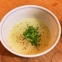 水炊き風鶏スープ