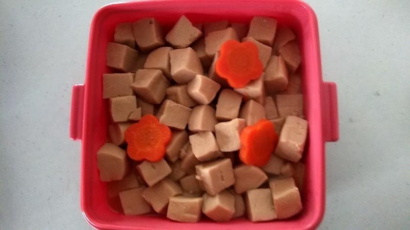 秋はしっとり高野豆腐の煮含め