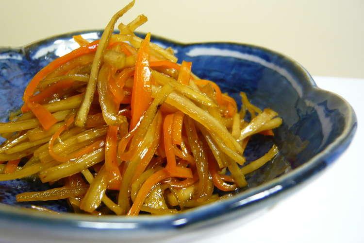 ごぼう レシピ きんぴら 美味しい 本当に美味しいきんぴらごぼう 何度も作りたい定番レシピVol.86