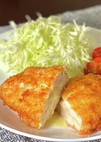 揚げ焼き☆ささみチーズフライ