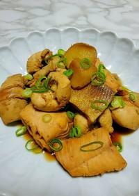 秋鮭と白子のバター醤油煮