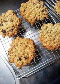 小麦粉不使用低糖質オートミールクッキー