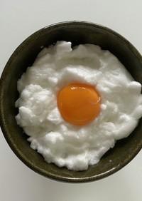 メレンゲの卵かけご飯