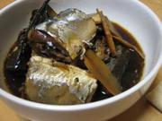 ご飯が欲しくなる。圧力鍋でさんまの生姜煮☆の写真