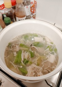 お家で牡蠣鍋