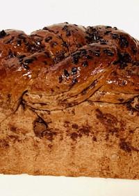 編みチョコ食パン