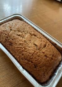 簡単で愛情いっぱいパウンドケーキ
