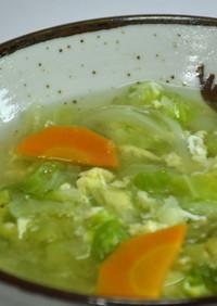 中華風「具だくさん野菜スープ」