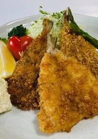卵乳小麦米粉無 油で揚げない魚フライ