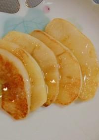 簡単おやつ ♪バター香るハチミツりんご