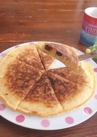 【ダイエット】もち麦のパンケーキ