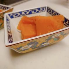 定番 かぼちゃの煮物