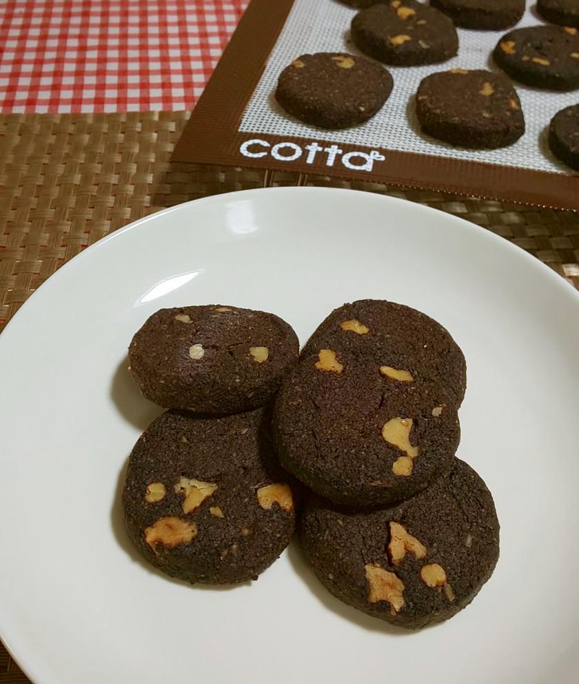 ★糖質オフ!さくさく*チョコクッキー*♪
