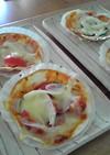 ギョウザの皮de簡単ピザ!
