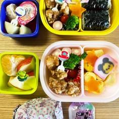 幼稚園お弁当☆年長年少 秋の遠足