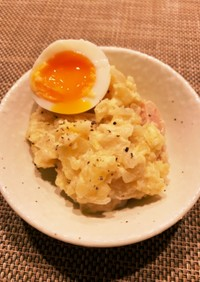 炊飯器&レンジで簡単ポテトサラダ♡
