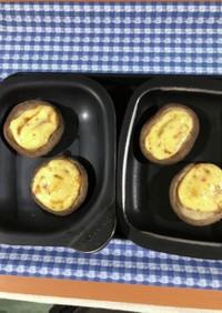 市販タルタルの椎茸トースター焼き♪