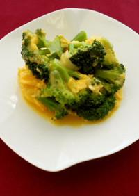 【バランス】ブロッコリーの卵チーズソース
