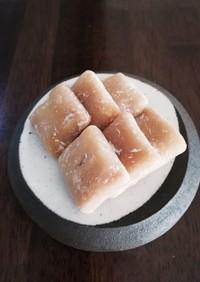 米粉で胡桃ゆべし風  袋とレンジで◎