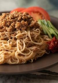 辛旨米麹醤のジャージャー麺風