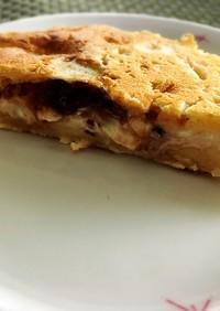 あずきモッツアレラチーズパン