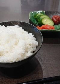 鍋で炊く新米(^w^)*2合、3合