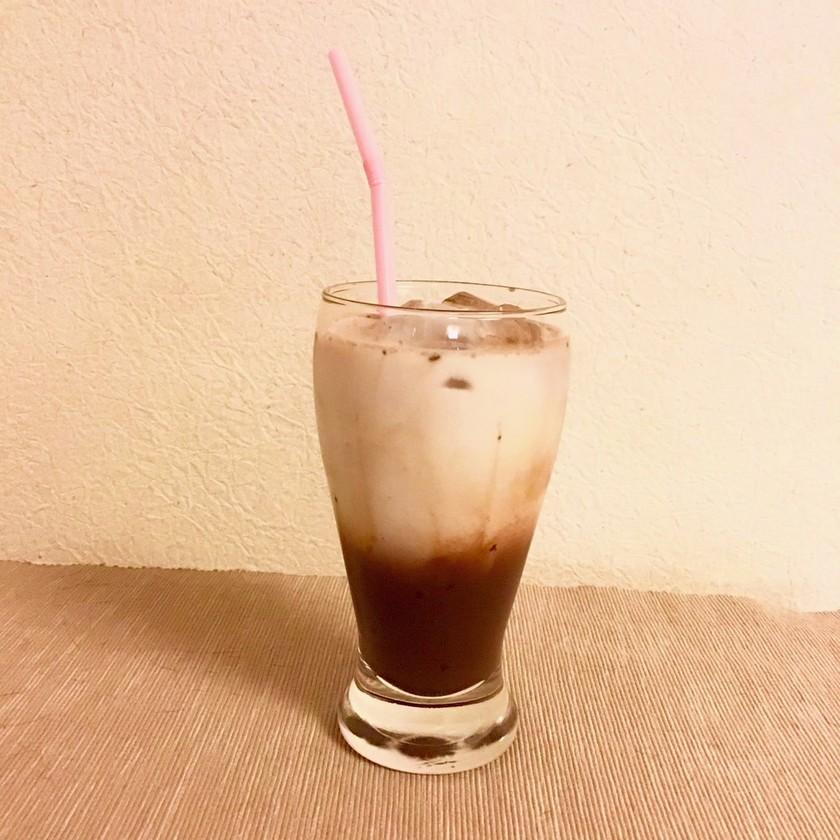 カフェ風♡簡単分離ココア牛乳