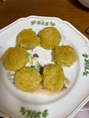 お芋のお団子の写真