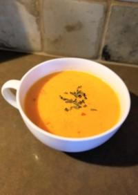 トマトと豆乳のほっこりスープ