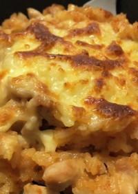 スキレットde和風明太チーズリゾット