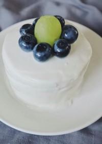 1歳誕生日 離乳食 スマッシュケーキ♡