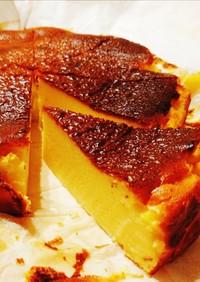 さつまいものバスクチーズケーキ