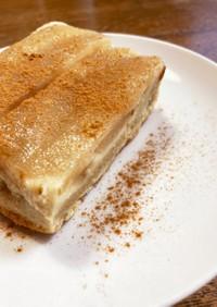 ラム酒とシナモン香る梨のパウンドケーキ