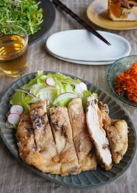 丸ごと揚げ焼き!鶏むね肉の塩昆布から揚げ