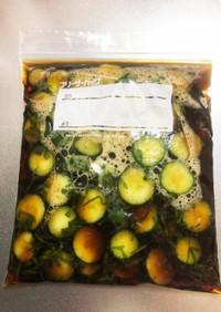 「創味のつゆ」で作る胡瓜の浅漬け