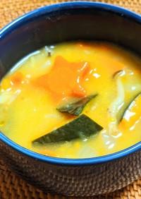 ごろごろかぼちゃのポタージュスープ