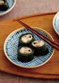 秋刀魚の昆布巻き