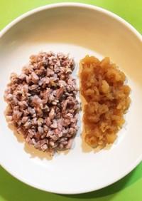 シニア犬の簡単チキンのりんご煮