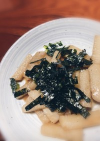 長芋の麺つゆ和え