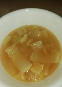 ツナと味噌バターで、まるであさり汁