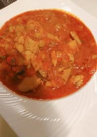 チキンのトマト煮こみ