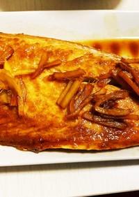手抜き美味☆魚(サバ)の煮付け(醤油)