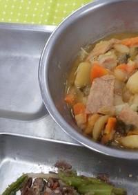 カムジャタン 河内長野市学校給食