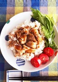 炊飯器でハイナンチキンライス*海南鶏飯