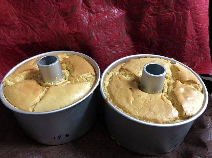 スタイリッシュ型 シフォンケーキ紅茶2台