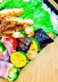 豚肉と夏野菜のさっぱり焼き浸し