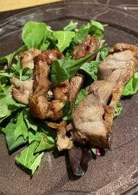 鶏もも肉の黒酢(フッチョ)ソースたれ