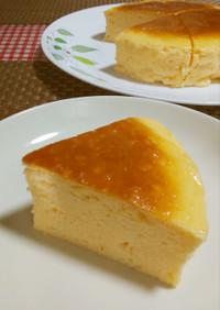 ★糖質オフ!美味しいスフレチーズケーキ♪